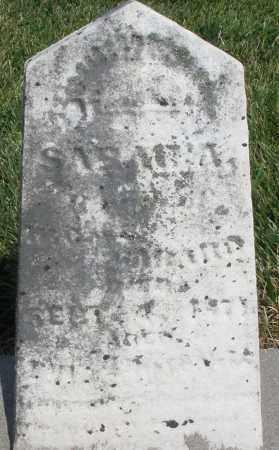 GARARD, SARAH A. - Montgomery County, Ohio | SARAH A. GARARD - Ohio Gravestone Photos