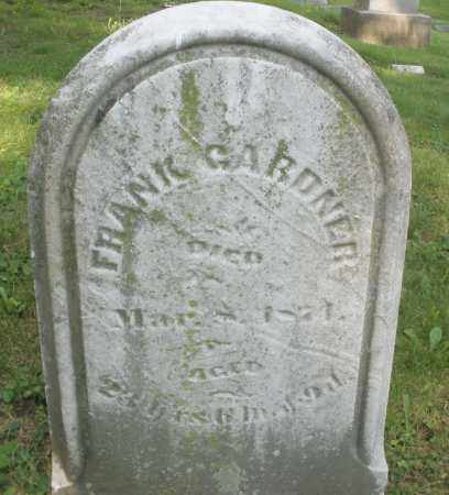 GARDNER, FRANK - Montgomery County, Ohio | FRANK GARDNER - Ohio Gravestone Photos
