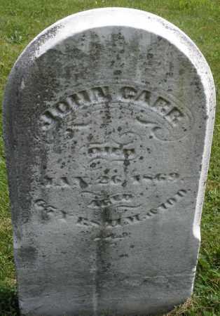 GARR, JOHN - Montgomery County, Ohio | JOHN GARR - Ohio Gravestone Photos