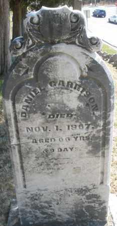 GARRISON, DANIEL - Montgomery County, Ohio | DANIEL GARRISON - Ohio Gravestone Photos