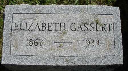 GASSERT, ELIZABETH - Montgomery County, Ohio | ELIZABETH GASSERT - Ohio Gravestone Photos