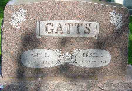 GATTS, AMY L - Montgomery County, Ohio | AMY L GATTS - Ohio Gravestone Photos