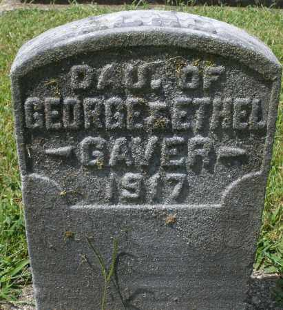 GAVER, ALMA - Montgomery County, Ohio | ALMA GAVER - Ohio Gravestone Photos