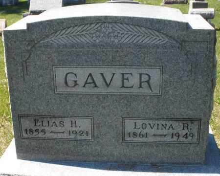 GAVER, ELIAS H. - Montgomery County, Ohio | ELIAS H. GAVER - Ohio Gravestone Photos