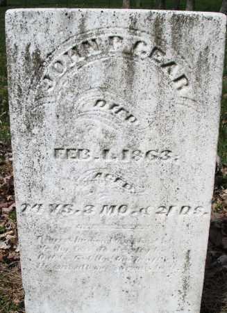 GEAR, JOHN P - Montgomery County, Ohio | JOHN P GEAR - Ohio Gravestone Photos