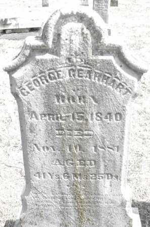 GEARHART, GEORGE - Montgomery County, Ohio | GEORGE GEARHART - Ohio Gravestone Photos