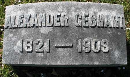 GEBHART, ALEXANDER - Montgomery County, Ohio | ALEXANDER GEBHART - Ohio Gravestone Photos