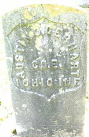 GEBHART, AUSTIN - Montgomery County, Ohio | AUSTIN GEBHART - Ohio Gravestone Photos