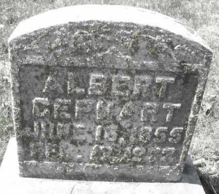 GEBHART, ALBERT - Montgomery County, Ohio | ALBERT GEBHART - Ohio Gravestone Photos