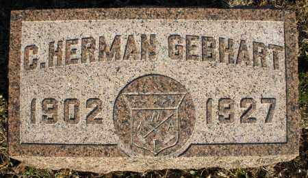 GEBHART, C. HERMAN - Montgomery County, Ohio | C. HERMAN GEBHART - Ohio Gravestone Photos