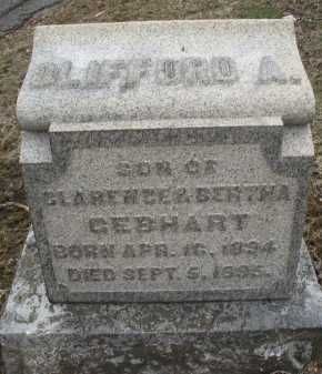 GEBHART, CLIFFORD A. - Montgomery County, Ohio | CLIFFORD A. GEBHART - Ohio Gravestone Photos