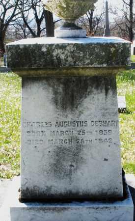 GEBHART, CHARLES AUGUSTUS - Montgomery County, Ohio | CHARLES AUGUSTUS GEBHART - Ohio Gravestone Photos