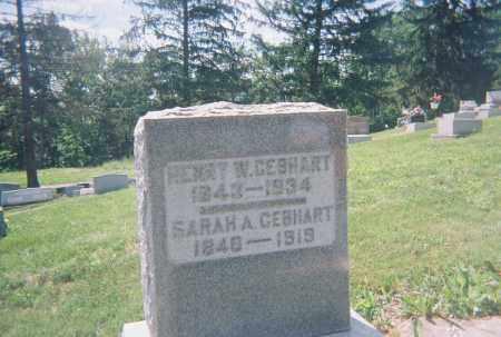 LEISZ GEBHART, SARAH ANN - Montgomery County, Ohio | SARAH ANN LEISZ GEBHART - Ohio Gravestone Photos