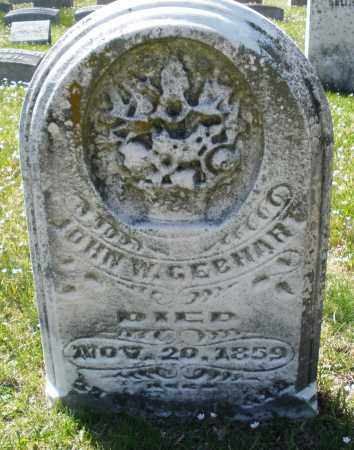 GEBHART, JOHN W. - Montgomery County, Ohio | JOHN W. GEBHART - Ohio Gravestone Photos