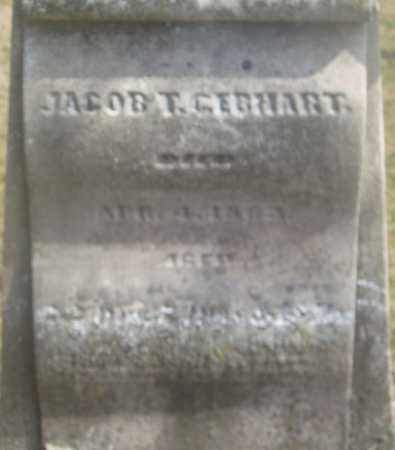 GEBHART, JACOB T, - Montgomery County, Ohio | JACOB T, GEBHART - Ohio Gravestone Photos