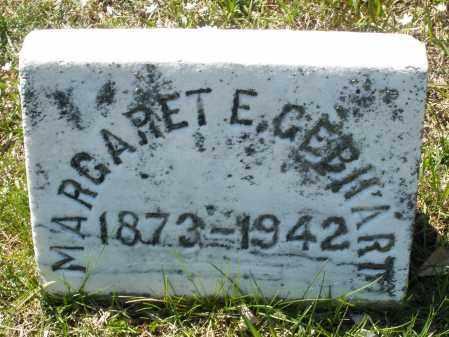 GEBHART, MARGARET E. - Montgomery County, Ohio | MARGARET E. GEBHART - Ohio Gravestone Photos