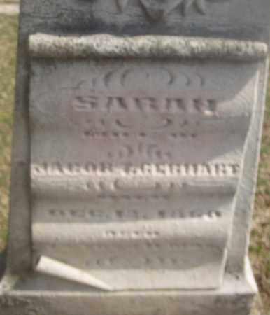 GEBHART, SARAH - Montgomery County, Ohio | SARAH GEBHART - Ohio Gravestone Photos