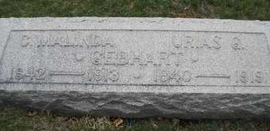 GEBHART, URIAS - Montgomery County, Ohio | URIAS GEBHART - Ohio Gravestone Photos