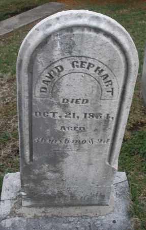 GEPHART, DAVID - Montgomery County, Ohio   DAVID GEPHART - Ohio Gravestone Photos
