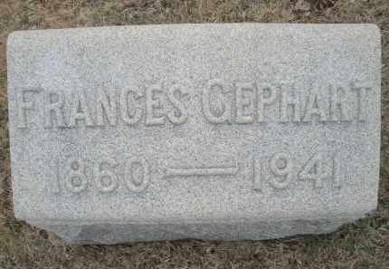 GEPHART, FRANCES - Montgomery County, Ohio | FRANCES GEPHART - Ohio Gravestone Photos