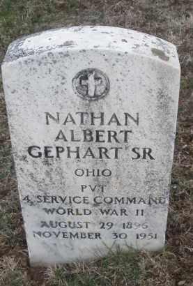 GEPHART, NATHAN ALBERT SR. - Montgomery County, Ohio | NATHAN ALBERT SR. GEPHART - Ohio Gravestone Photos