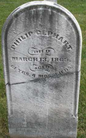 GEPHART, PHILIP - Montgomery County, Ohio | PHILIP GEPHART - Ohio Gravestone Photos