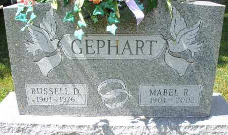 GEPHART, RUSSELL D. - Montgomery County, Ohio | RUSSELL D. GEPHART - Ohio Gravestone Photos
