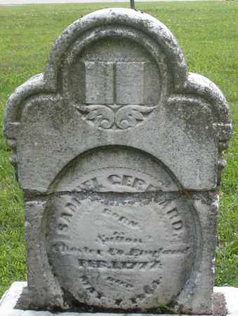 GERHARD, SAMUEL - Montgomery County, Ohio | SAMUEL GERHARD - Ohio Gravestone Photos