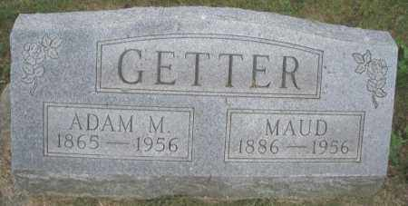 GETTER, ADAM M. - Montgomery County, Ohio | ADAM M. GETTER - Ohio Gravestone Photos