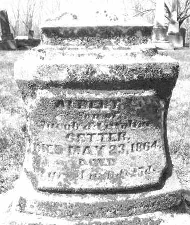 GETTER, ALBERT - Montgomery County, Ohio | ALBERT GETTER - Ohio Gravestone Photos