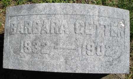 GETTER, BARBARA - Montgomery County, Ohio | BARBARA GETTER - Ohio Gravestone Photos