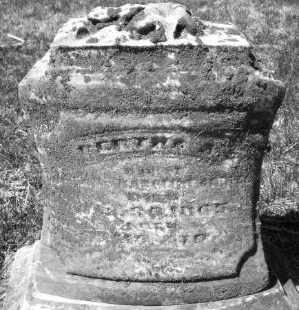 GETTER, BERTHA A - Montgomery County, Ohio | BERTHA A GETTER - Ohio Gravestone Photos