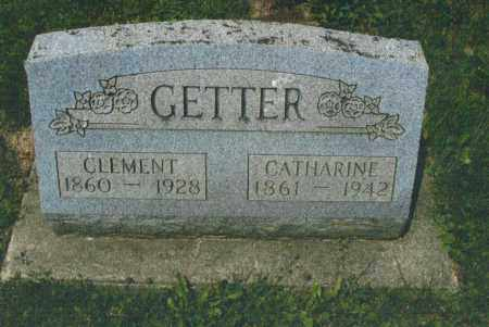 GETTER, CLEMENT - Montgomery County, Ohio | CLEMENT GETTER - Ohio Gravestone Photos