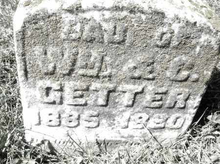 GETTER, DAUGHTER - Montgomery County, Ohio | DAUGHTER GETTER - Ohio Gravestone Photos