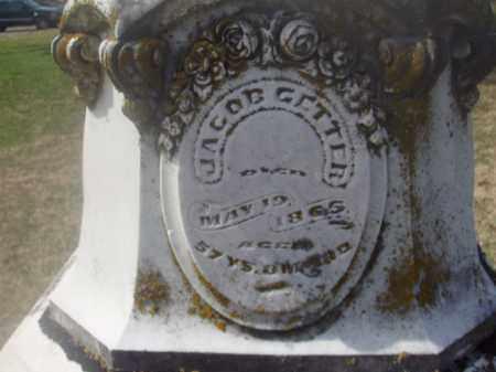 GETTER, JACOB - Montgomery County, Ohio | JACOB GETTER - Ohio Gravestone Photos