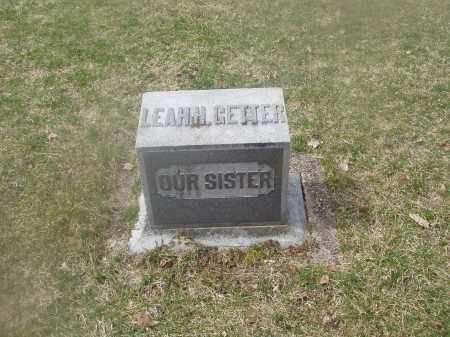 GETTER, LEAH H. - Montgomery County, Ohio | LEAH H. GETTER - Ohio Gravestone Photos