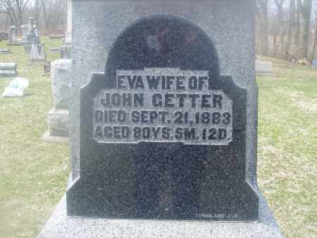 SNEPP GETTER, MARIA EVA - Montgomery County, Ohio | MARIA EVA SNEPP GETTER - Ohio Gravestone Photos