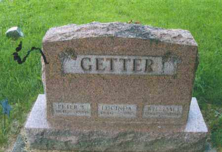 GETTER, LUCINDA - Montgomery County, Ohio | LUCINDA GETTER - Ohio Gravestone Photos