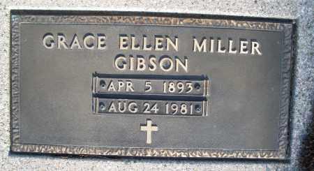 MILLER GIBSON, GRACE ELLEN - Montgomery County, Ohio | GRACE ELLEN MILLER GIBSON - Ohio Gravestone Photos