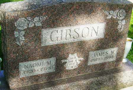 GIBSON, JAMES W - Montgomery County, Ohio | JAMES W GIBSON - Ohio Gravestone Photos