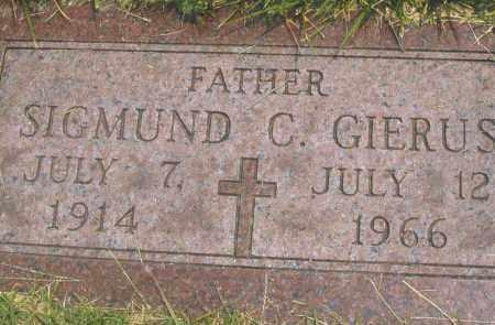 GIERUS, SIGMUND C. - Montgomery County, Ohio | SIGMUND C. GIERUS - Ohio Gravestone Photos