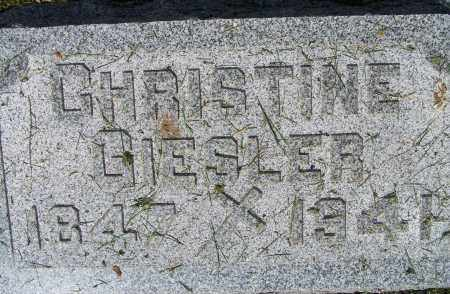GIESLER, CHRISTINE - Montgomery County, Ohio | CHRISTINE GIESLER - Ohio Gravestone Photos