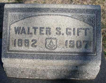 GIFT, WALTER S. - Montgomery County, Ohio | WALTER S. GIFT - Ohio Gravestone Photos