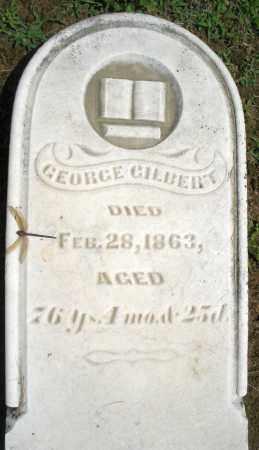 GILBERT, GEORGE - Montgomery County, Ohio | GEORGE GILBERT - Ohio Gravestone Photos