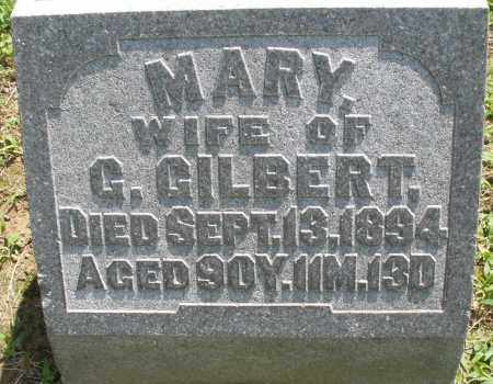 GILBERT, MARY - Montgomery County, Ohio | MARY GILBERT - Ohio Gravestone Photos