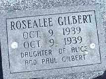 GILBERT, ROSEALEE - Montgomery County, Ohio | ROSEALEE GILBERT - Ohio Gravestone Photos