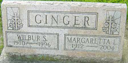 GINGER, WILBUR S - Montgomery County, Ohio | WILBUR S GINGER - Ohio Gravestone Photos