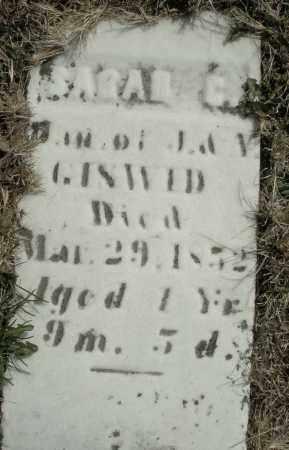 GISWID, SARAH C. - Montgomery County, Ohio | SARAH C. GISWID - Ohio Gravestone Photos