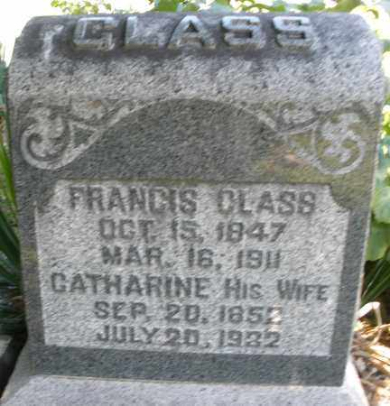 GLASS, CATHARINE - Montgomery County, Ohio | CATHARINE GLASS - Ohio Gravestone Photos