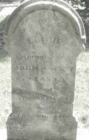 GLASS, LIBBIE - Montgomery County, Ohio | LIBBIE GLASS - Ohio Gravestone Photos